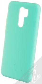 1Mcz Solid TPU ochranný kryt pro Xiaomi Redmi 9 mátově zelená (mint green)