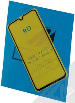 1Mcz Thin Glass 9D tenké ochranné tvrzené sklo na kompletní displej pro Samsung Galaxy A40 černá (black)