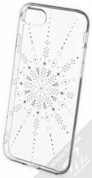 1Mcz Trendy Sněhová vločka TPU ochranný kryt pro Apple iPhone 7, iPhone 8, iPhone SE (2020) průhledná (transparent)