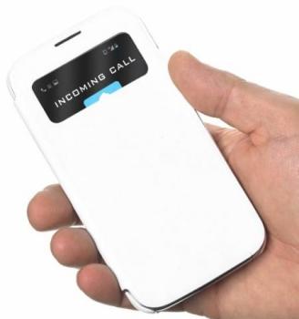 Celly Flip Folio Samsung Galaxy S4 v ruce