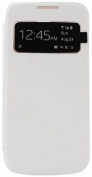 Forcell Window Flip flipové pouzdro pro Samsung Galaxy S4, Galaxy S4 LTE-A bílá (white)