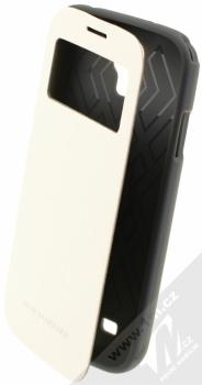 Goospery Wow Window flipové pouzdro pro Samsung Galaxy S4, Galaxy S4 LTE-A bílá (white)