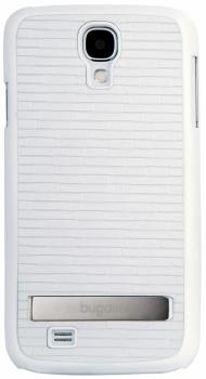Bugatti ClipOnCover Premium odolný ochranný kryt pro Samsung Galaxy S4, Galaxy S4 LTE-A bílá (white)