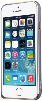 USAMS Arco ochranný rámeček pro Apple iPhone 6 Plus, iPhone 6S Plus šedá (iron gray)