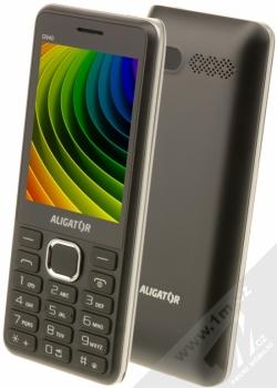 Aligator D940 Dual SIM + POUZDRO GOLLA v ceně 199Kč ZDARMA černá (black)
