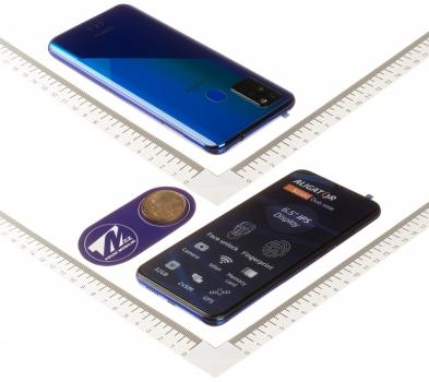 Aligator S6500 Duo 2GB/32GB modrá (blue) zboku