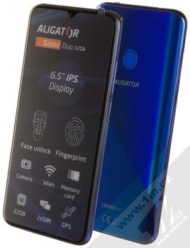 Aligator S6500 Duo 2GB/32GB modrá (blue)