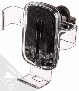 Baseus Wireless Charger Gravity Vent Car Mount WXYL-K02 univerzální držák do mřížky ventilace automobilu s bezdrátovým nabíjením průhledná (transparent)