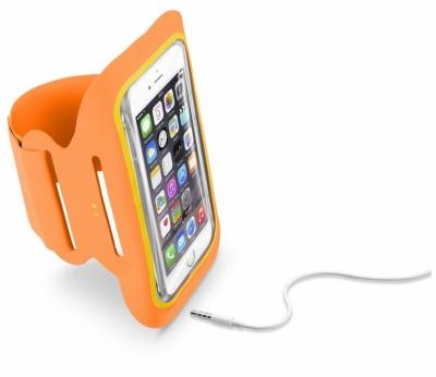 CellularLine Armband Fitness sportovní pouzdro na paži pro mobilní telefon, mobil, smartphone do 5,2 audio