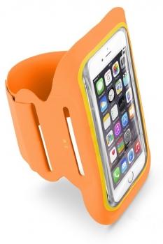 CellularLine Armband Fitness sportovní pouzdro na paži pro mobilní telefon, mobil, smartphone do 5,2