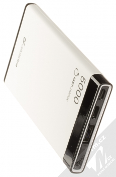 CellularLine FreePower Manta S záložní zdroj 5000mAh bílá černá (white black) výstupy