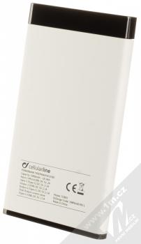 CellularLine FreePower Manta S záložní zdroj 5000mAh bílá černá (white black) zezadu