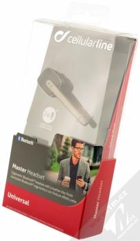 CellularLine Master Bluetooth headset černá (black) krabička
