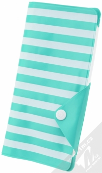 Celly Splash Wallet voděodolné pouzdro pro mobilní telefon, mobil, smartphone do 5,7 tyrkysová (turquoise)