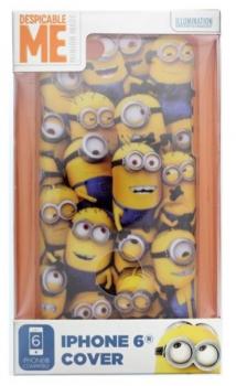 Despicable Me Minions, Mimoni ochranný kryt pro Apple iPhone 6, iPhone 6S motiv mimoňů krabička