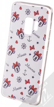 Disney Minnie Mouse 007 TPU ochranný silikonový kryt s motivem pro Samsung Galaxy S9 bílá (white)