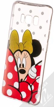 Disney Minnie Mouse 015 TPU ochranný silikonový kryt s motivem pro Samsung Galaxy S8 průhledná (transparent)