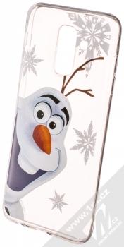 Disney Olaf 002 TPU ochranný silikonový kryt s motivem pro Samsung Galaxy A6 Plus (2018) průhledná (transparent)