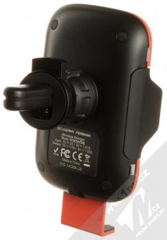 Ferrari Scuderia Car Holder Wireless & Sensor držák s bezdrátovým nabíjením a infrared senzorem do mřížky ventilace v automobilu (FECCWLPDRE) červená (red) zezadu