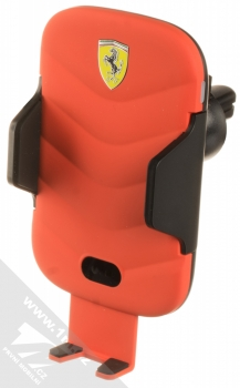 Ferrari Scuderia Car Holder Wireless & Sensor držák s bezdrátovým nabíjením a infrared senzorem do mřížky ventilace v automobilu (FECCWLPDRE) červená (red)