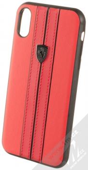 Ferrari Urban ochranný kryt pro Apple iPhone XR (FEURHCI61REB) červená černá (red black)