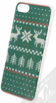 Flavr Ugly Xmas Sweater ochranný kryt s motivem pleteného svetru pro Apple iPhone 7, iPhone 8 zelená (green)