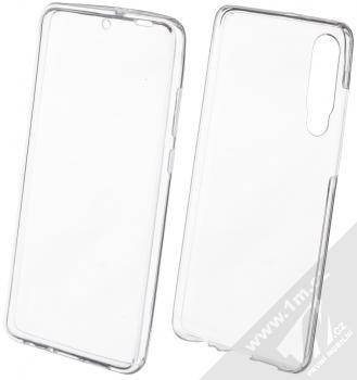 Forcell 360 Ultra Slim sada ochranných krytů pro Huawei P30 průhledná (transparent)