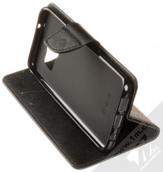 Forcell Fancy Book flipové pouzdro pro Samsung Galaxy S7 Edge černá (black) stojánek