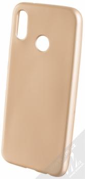 Forcell Jelly Matt Case TPU ochranný silikonový kryt pro Huawei P20 Lite zlatá (gold)