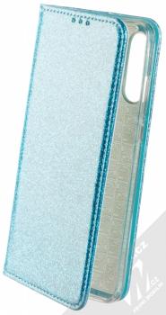 Forcell Shining Book třpytivé flipové pouzdro pro Huawei P30 Lite modrá (blue)