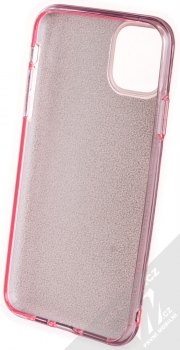 Forcell Shining třpytivý ochranný kryt pro Apple iPhone 11 Pro Max růžová (pink) zepředu