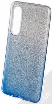 Forcell Shining třpytivý ochranný kryt pro Huawei P30 stříbrná modrá (silver blue)