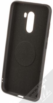 Forcell Soft Magnet Case TPU ochranný kryt podporující magnetické držáky pro Xiaomi Pocophone F1 černá (black) zepředu