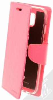 Goospery Bravo Diary flipové pouzdro pro Samsung Galaxy J5 (2017) sytě růžová (hot pink)