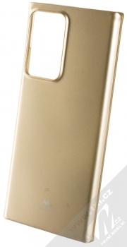 Goospery Jelly Case TPU ochranný kryt pro Samsung Galaxy Note 20 Ultra zlatá (gold)
