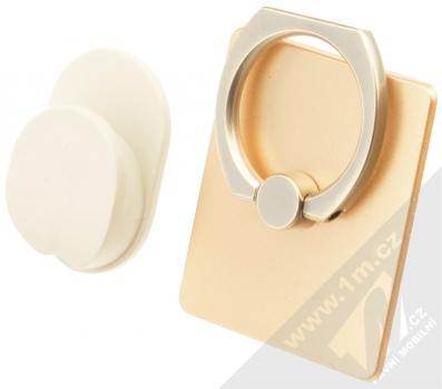 GreenGo Sticky Smart-Ring držák na prst zlatá (gold)