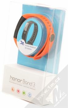 Honor Band 3 chytrý fitness náramek se senzorem srdečního tepu oranžová (dynamic orange) krabička