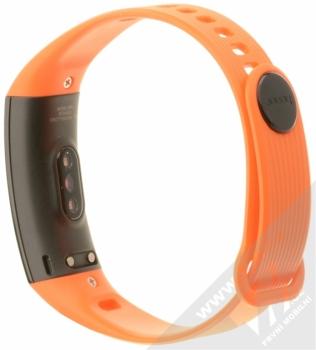Honor Band 3 chytrý fitness náramek se senzorem srdečního tepu oranžová (dynamic orange) zezadu
