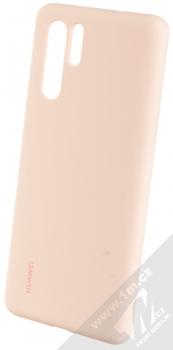 Huawei Silicone Case originální ochranný kryt pro Huawei P30 Pro světle růžová (light pink)