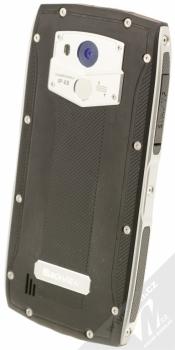 iGET BLACKVIEW GBV7000 PRO stříbrná (silver) šikmo zezadu