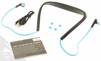 Jabra Halo Smart Bluetooth Stereo headset modrá (blue) balení