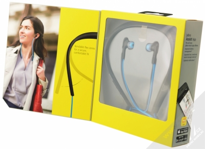 Jabra Halo Smart Bluetooth Stereo headset modrá (blue) krabička otevřená