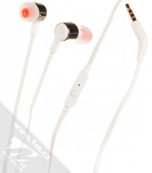 JBL TUNE 210 headset stereo sluchátka bílá kovově šedá (white steel grey)