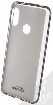 Kisswill TPU Open Face silikonové pouzdro pro Xiaomi Mi A2 Lite černá průhledná (black)
