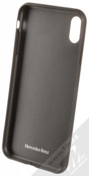 Mercedes Dynamic Carbon ochranný kryt pro Apple iPhone XS Max (MEHCI65SRCFBK) černá (black) zepředu