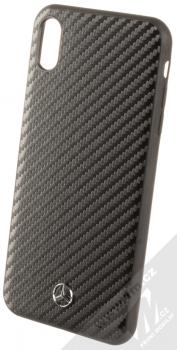 Mercedes Dynamic Carbon ochranný kryt pro Apple iPhone XS Max (MEHCI65SRCFBK) černá (black)
