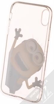 Mimoni Larry 002 TPU ochranný kryt pro Apple iPhone XR průhledná (transparent) zepředu