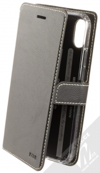 Molan Cano Issue Diary flipové pouzdro pro Apple iPhone XR černá (black)