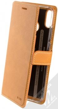 Molan Cano Issue Diary flipové pouzdro pro Honor 8X hnědá (brown)