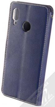Molan Cano Issue Diary flipové pouzdro pro Huawei Nova 3 tmavě modrá (navy blue) zezadu